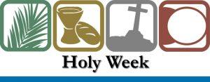 4 part Holy Week